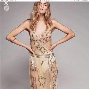 NWT Beautiful FP slip dress. Size large